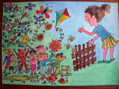 Disegno di Daniela Rahel Schneider-Ventura